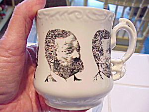 Unusual Portrait Shaving Mug