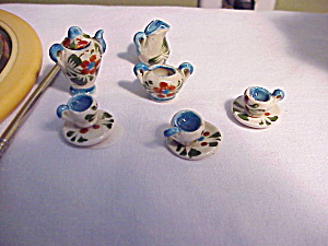 Miniature Doll House Tea Set
