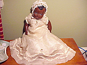Black Girl Doll/painted Face