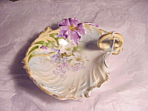 Rs Prussia Iris Var. 1 Handled Bowl