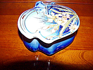 Rs Prussia Cobalt Lidded Pin Dish