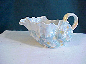 Royal Bayreuth Spiky Shell Creamer