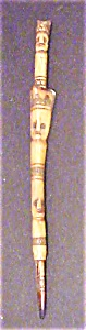 Oceanic Carved Bone Figural Totem