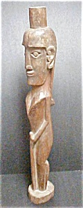 Wooden Wellness Effigy Figure - Sumatra