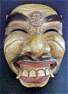 Superb Old Balinese Ceremonial Mask