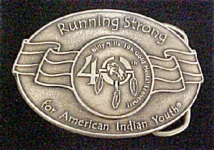 American Indian Youth Belt Buckle