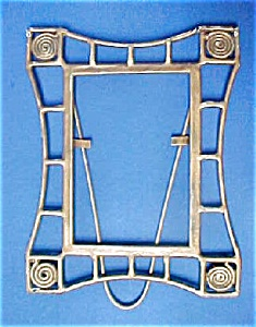 Vintage Metal Arts And Crafts Style Frame