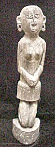 Ebony Female Figure -massim