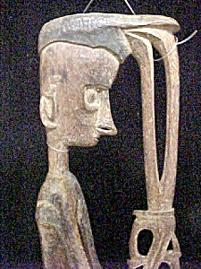Wood Statue - Dyak Culture - Borneo