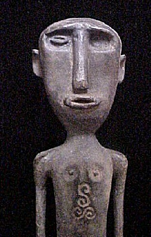 Old Ancestor Figure - West Timor, Indonesia