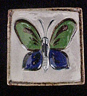 Mexican Butterfly Tile