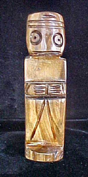 South Pacific Wooden Souvenir Figure