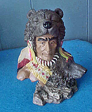 Spirit Of The Bear Sculpture - 20th C