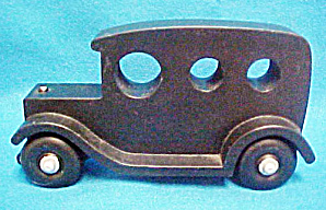 Large Black Wooden Touring Auto