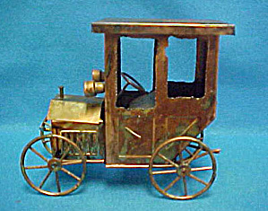 Model T Auto - Tin Music Box
