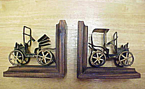 Auto Bookends - Antique Style