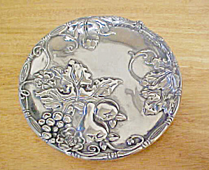 St. Catherine's Court - Silver-toned Plate