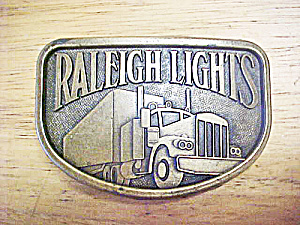 Raleigh Lights - 18 Wheeler Belt Buckle