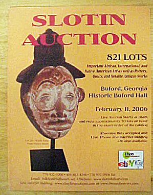 Slotin Auction - February 2006