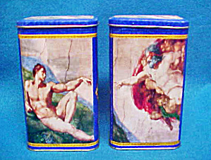Creation Of Adam Tins - Limited Editon/2 Tins