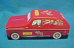 Craftsman Collectible Tin Car