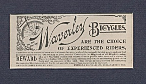 Waverley Bicycles Ad
