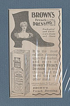 Matted Brown's French Dressing Ad