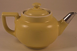 Small Yellow Hall Boston Tea Pot