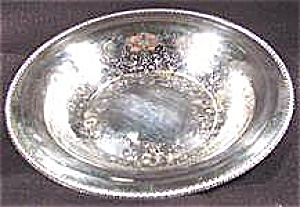 Silverplate Bowl - Rogers - Embossed