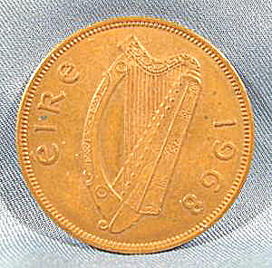 Coin - Ireland 1968 Penny - Bronze