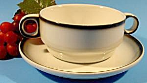 Boullion Cup And Saucer - Thomas - Germany