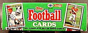 Topps Football Cards - 1991 Complete Set Of 660