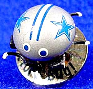 Dallas Cowboys Victory Bug Trembler Pin