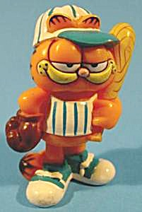 Garfield Up To Bat Toy - 1981