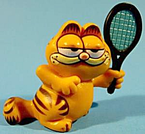 Garfield Playing Tennis - 1981