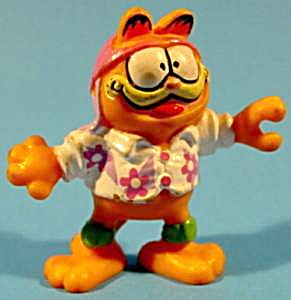 Garfield Toy - 1981 - Skateboard Rider