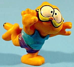 Garfield Toy Running - 1981