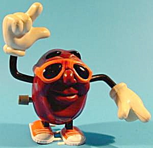 California Raisin Windup Walker - 1988 - Ben Indasun