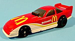 Happy Meal Hot Wheels Race Car - 1993 - Diecast - Np