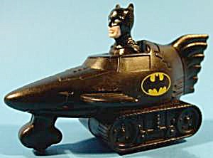Batman Press N Go Batmobile - 1991 - Tm & Dc Comics