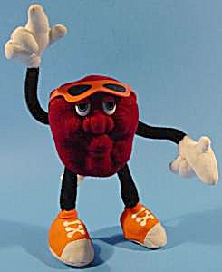 California Raisin Boy Plush - 1988 Calrab