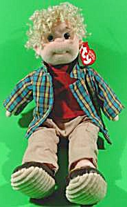 Ty Beanie Bopper Boy Doll - Rugged Rusty - Retired