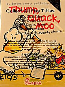 Chic Fil A Kids Meal Toy Booklet - Thump, Quack, Moo