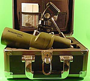 Winchester Spotting Scope, Tripod, Hard Case + Extras