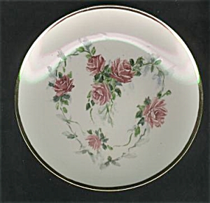 Hp Heart Of Roses 1890 Design Porcelainplate
