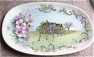 Handpainted Hutschenreuther Porcelain Tray