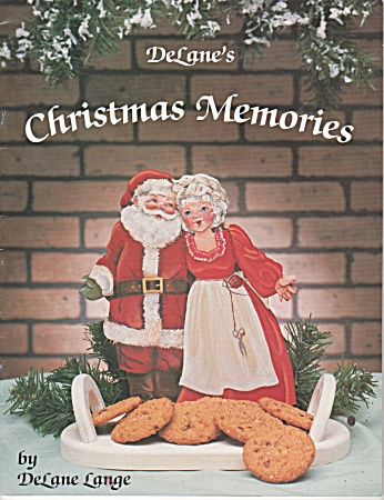 Delanes - Wood Painting - Christmas Memories - 1988