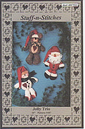 Jolly Trio - Christmas - Liz Hansen - 1992 - Oop