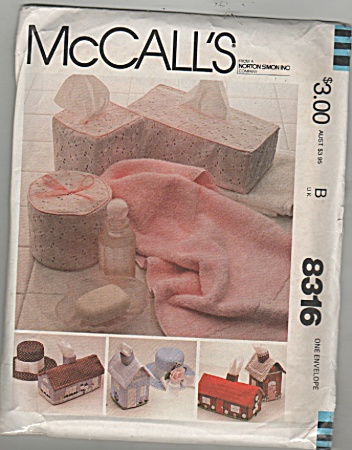 Mccall's - Sz: One Envelope - Tissue Covers - 83