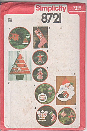 Vintage - Various - Christmas Ornaments - Oop